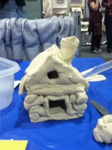 Creating with Clay at a Home School Convention